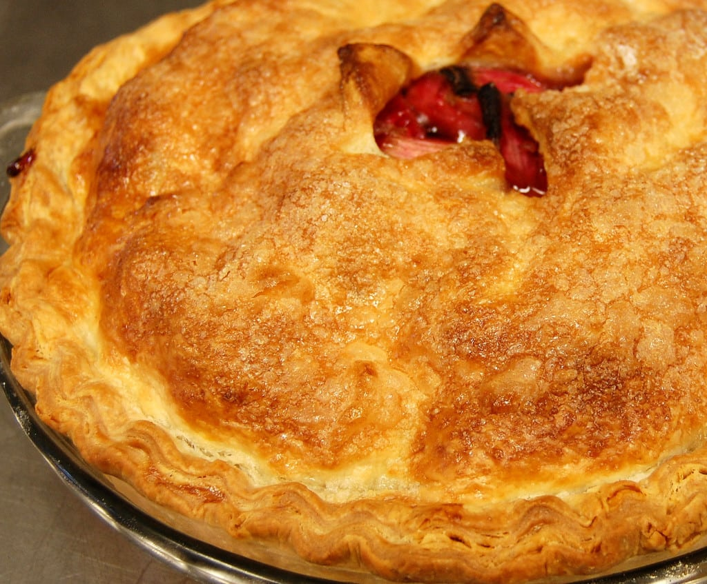 Flaky, crispy, tender and tasty.--perfect pie crust