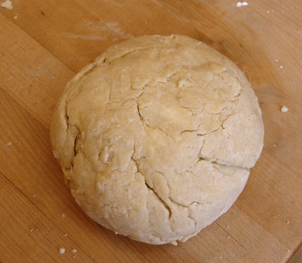 The dough is ready to rest in the refrigerator for at least one hour, preferably 2 or 3 hours.