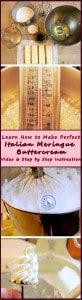 Italian Meringue Buttercream is easier than you think!