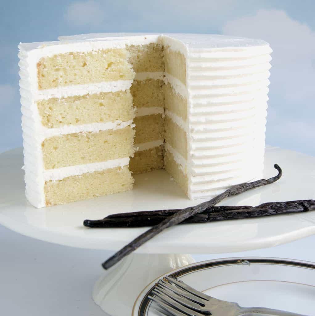 Vanilla Layer Cake Baking Sense