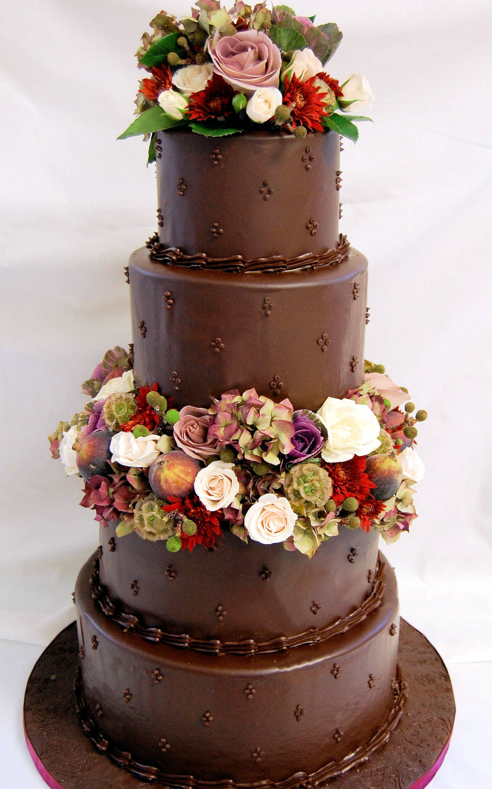 chocolate ganache wedding cakes pictures chocolate ganache baking sense 12717