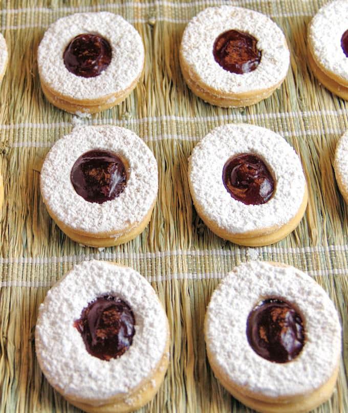 short dough cookies