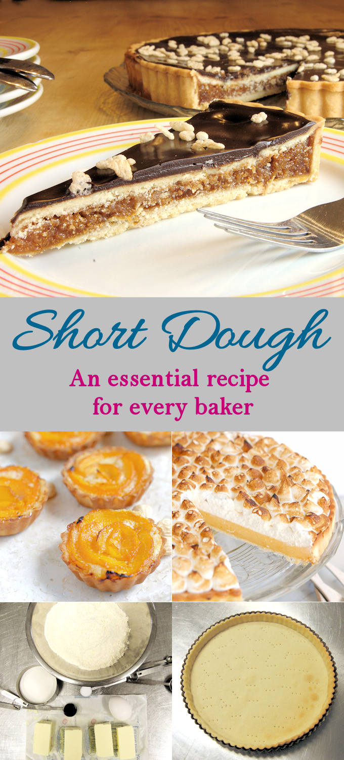 Call it what you will, Pâte Sucrée, Pâte Sablée, Short Dough, Sweet Dough, Tart Dough, this versatile dough is perfect for lining a tart pan or for making cookies. This is a basic recipe for your collection and it comes together in minutes.