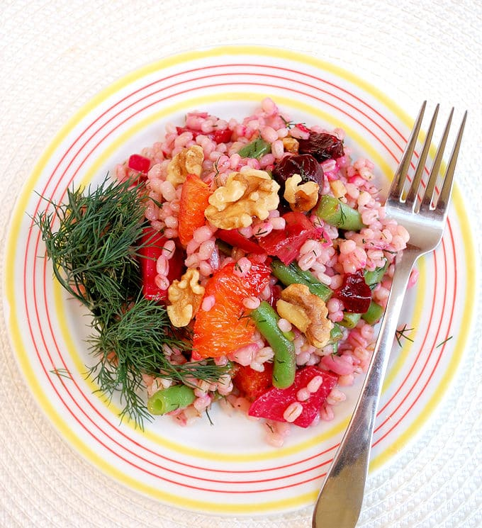 Memorial Day Recipes barley salad