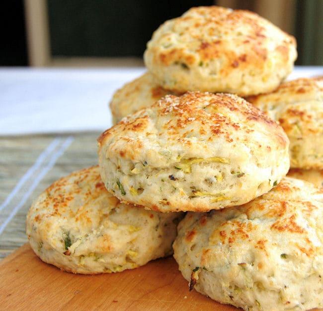 zucchini biscuits