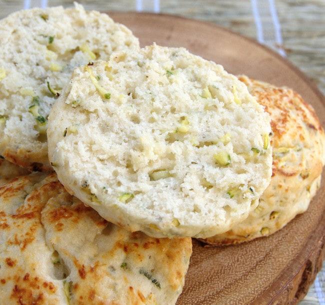 zucchini biscuit
