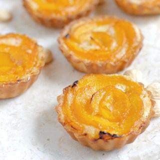 Apricot Frangipane Tartelettes & Asti-Pair Dessert & Wine