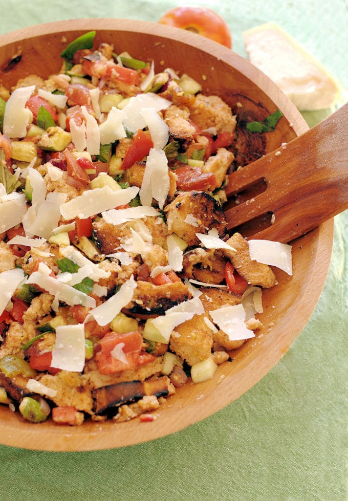 Memorial Day Recipes panzanella