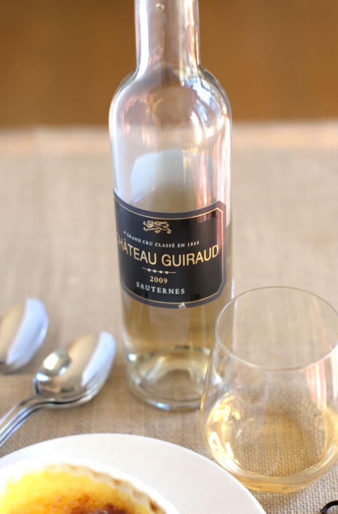 How to pair dessert with wine