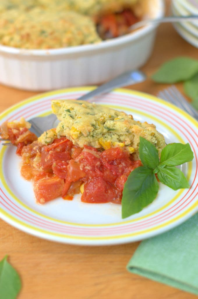 tomato corn cobber