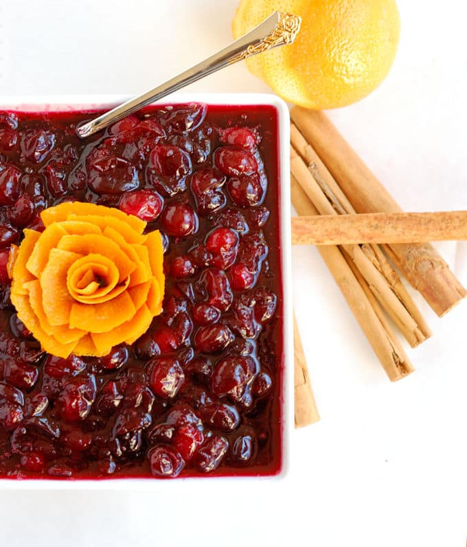 cranberries in red wine