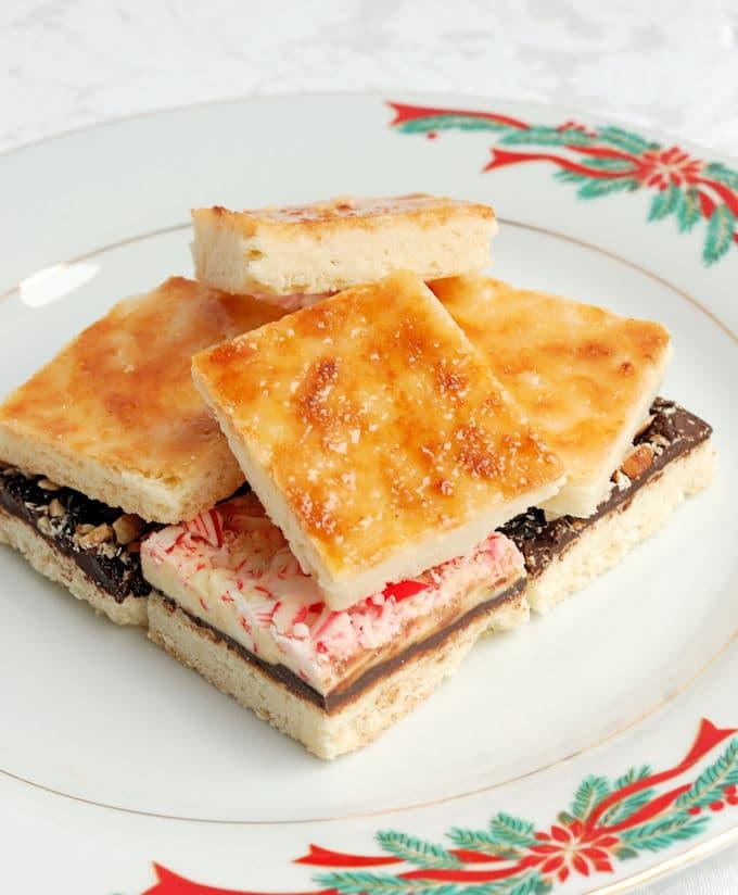 creme brulee shortbread