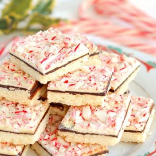 Peppermint Bark Shortbread