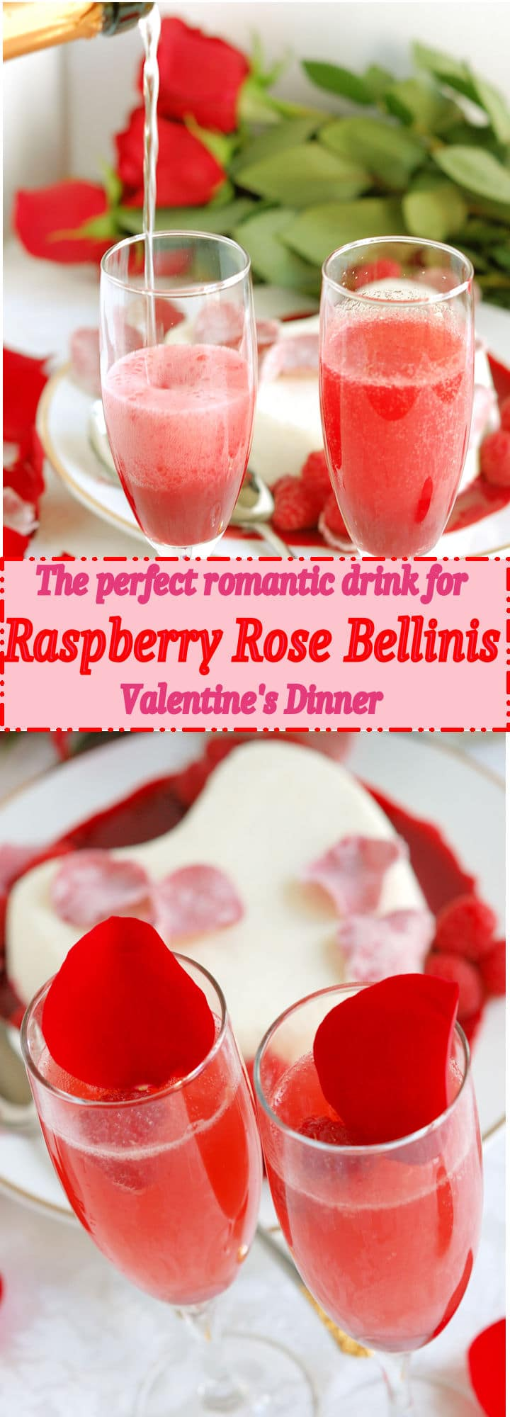 Share this romantic drink with your Valentine