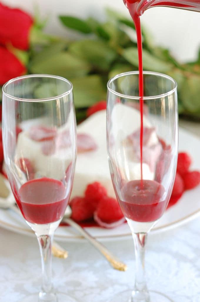 raspberry rose bellini 1