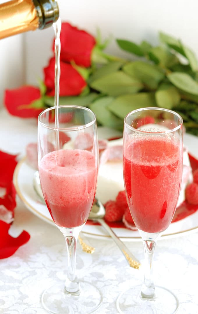 raspberry rose bellini 2