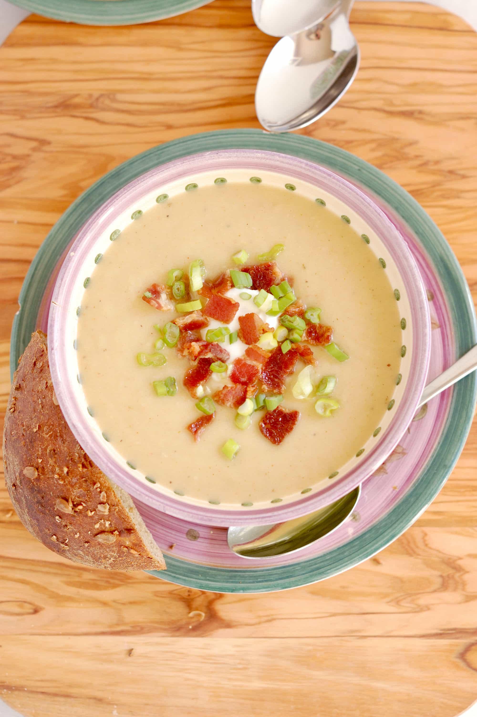 celeriac leek potato soup