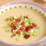 celeriac leek potato soup