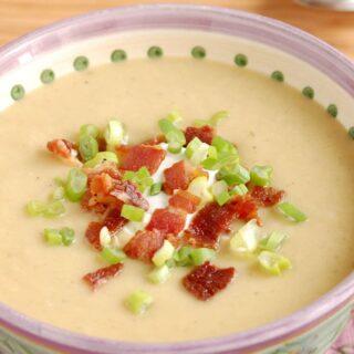 Celeriac, Leek & Potato Soup