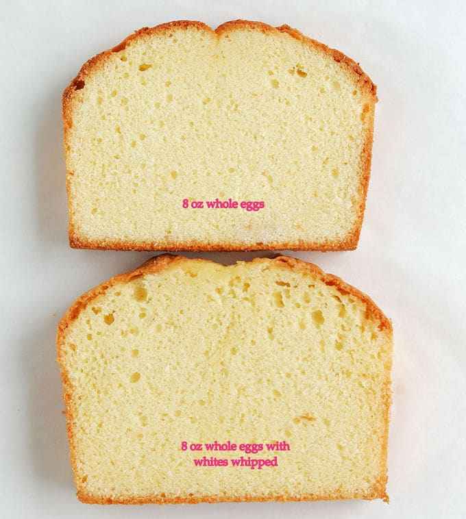 Egg Whites Vs Yolk Cake