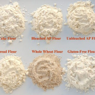 6 types of flour