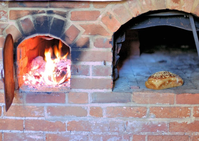 wood burning oven 2