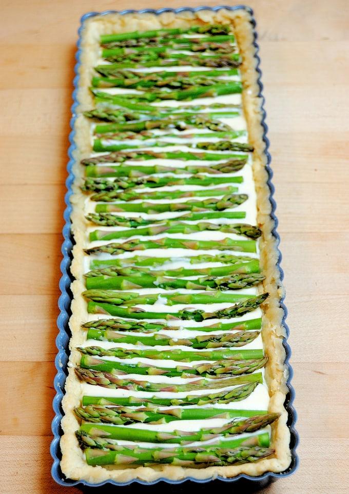 asparagus tart 1a