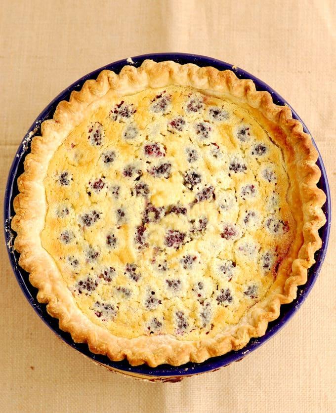 a buttermilk pie