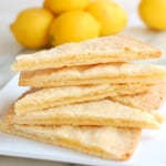 Lemon Filled Shortbread