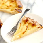 pear galette with ginger