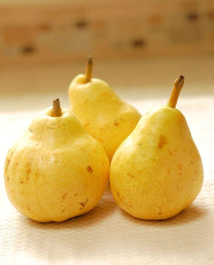 bartett pears