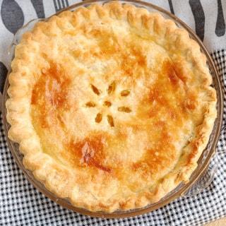 """Meyer Lemon Shaker Pie for """"Pi"""" Day"""