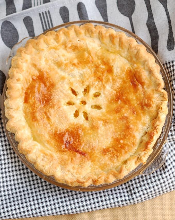 """Meyer Lemon Shaker Pie for """"Pi"""" Day - Baking Sense"""