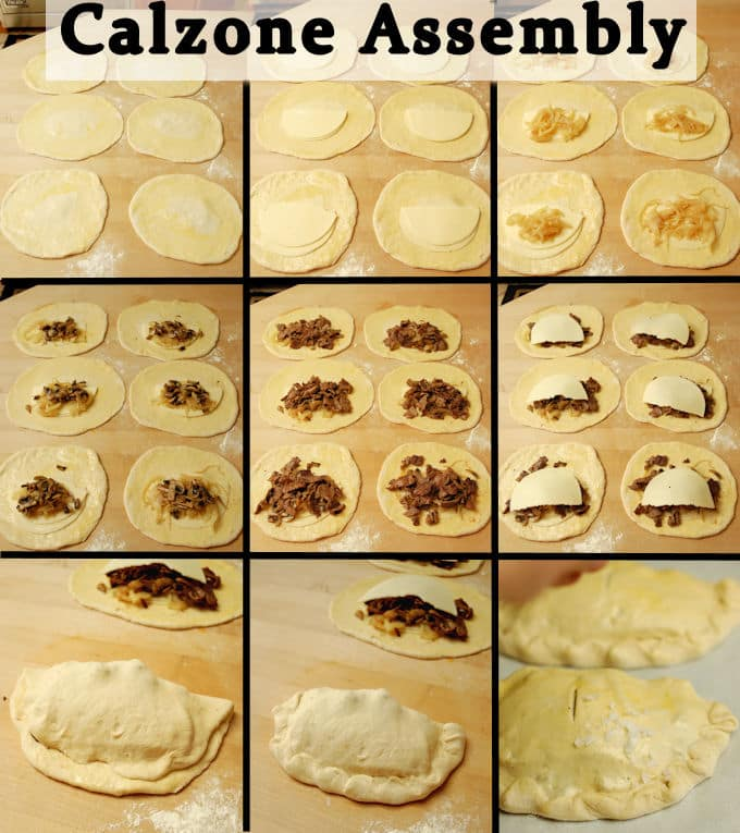 calzone assembly