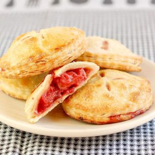 Roasted Strawberry Hand Pies #SundaySupper