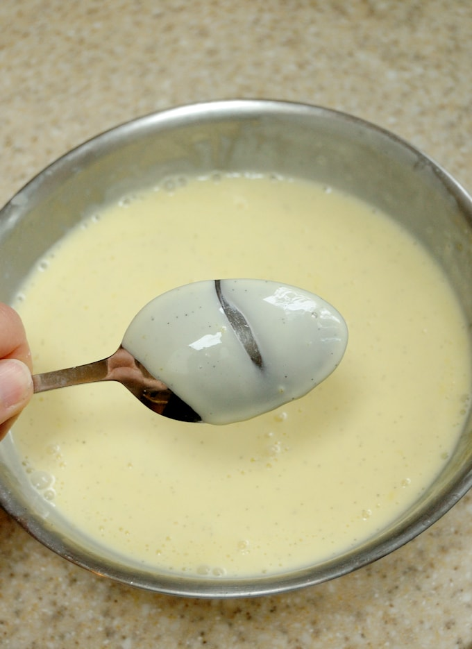 creme anglaise for ice cream