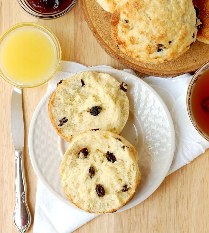 raisin scones 7a