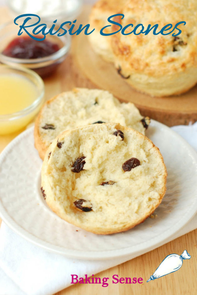 It's not hard to find a recipe for Raisin Scones, but I can guarantee you that this is a really good recipe. I used this recipe for 7 years when I worked in a British tea shop and I got the personal approval of the owner's British mom for my Raisin Scones. #recipe #easy #from scratch #best #british #afternoon tea #tea time #authentic
