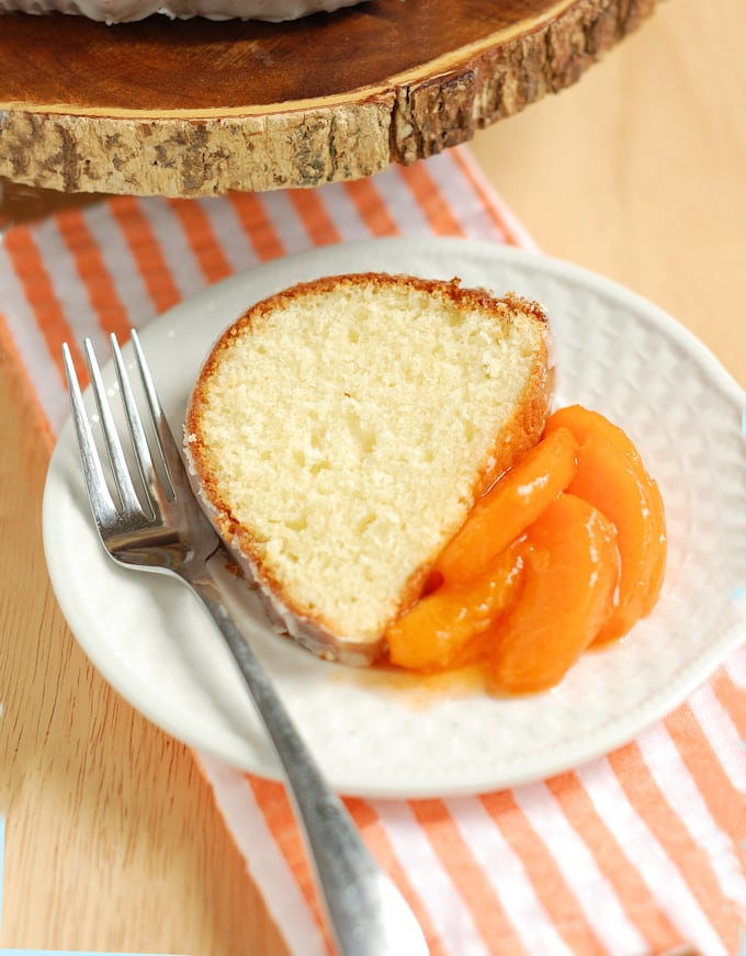Buttermilk Bundt Cake with Buttermilk Glaze