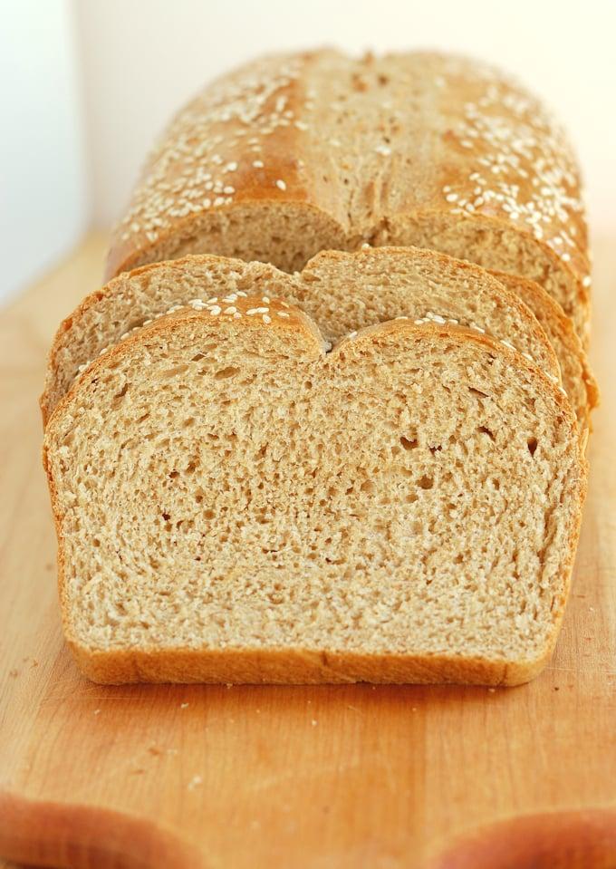 milk & honey whole wheat bread 16a
