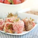tempura strawberries