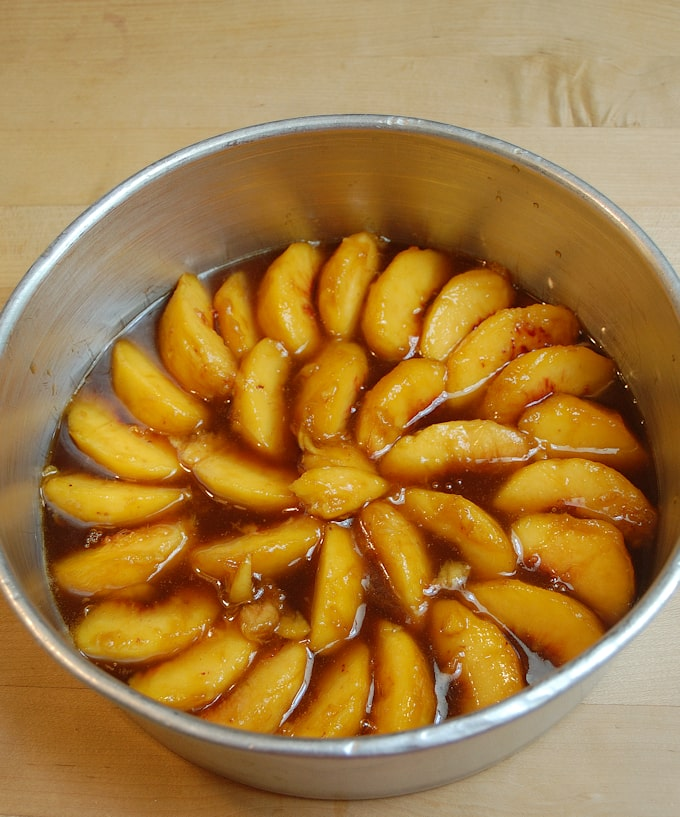 peach upside down cake 2a