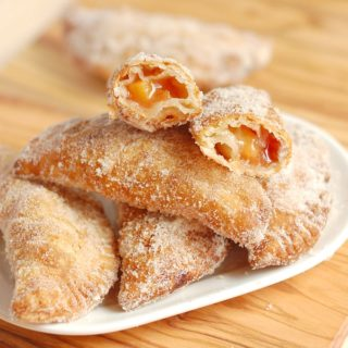 Fried Tequila-Peach Hand Pies