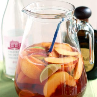 a pitcher of Mexican Sangria