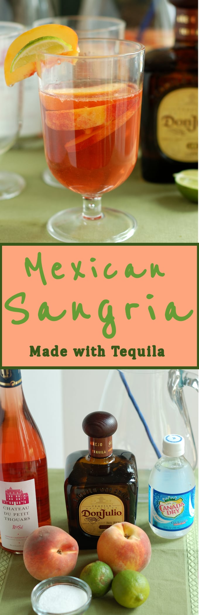 Love Sangria and Tequila? Make your next sangria with tequila for a new take on an old favorite.