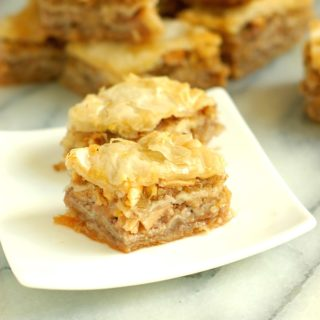 Apple Maple Baklava -A new twist on an old favorite
