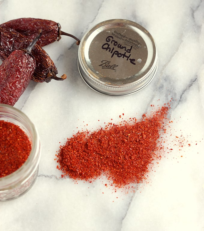 homemade chipotle peppers