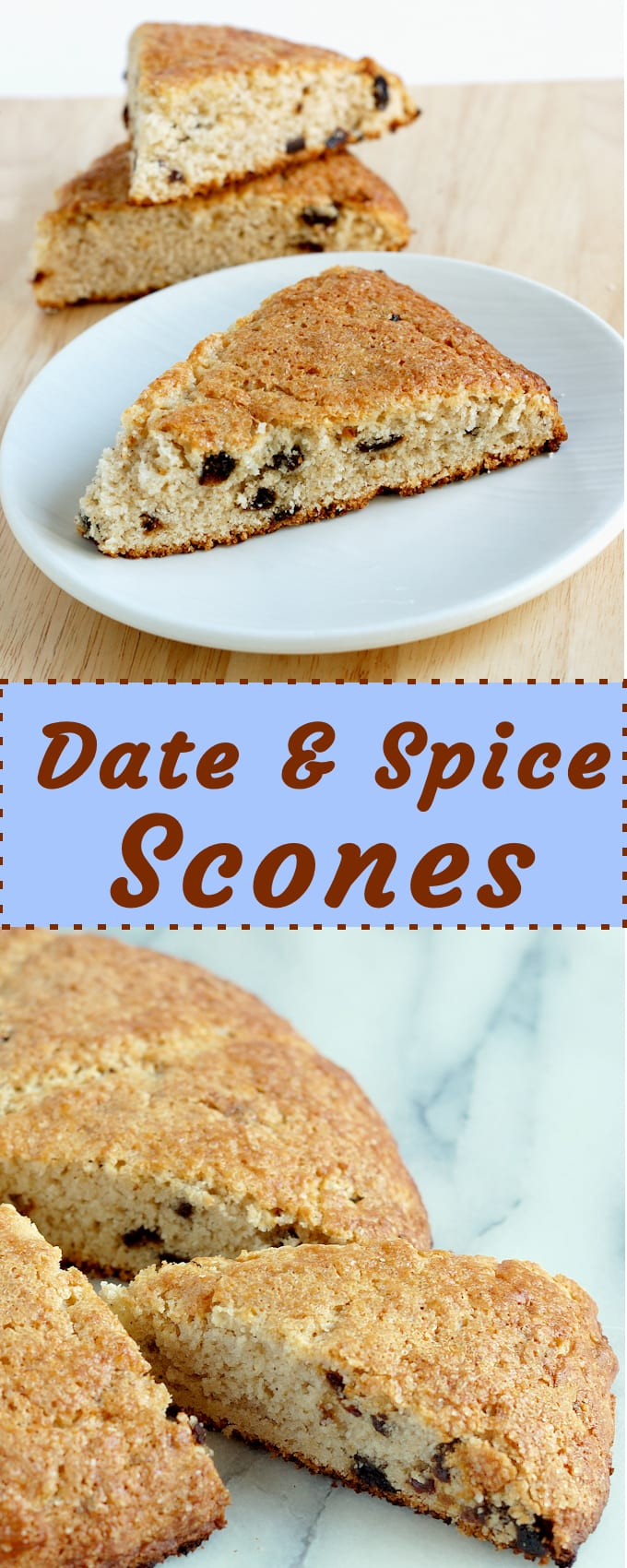 Date Amp Spice Scones For Breakfast Or Brunch Baking Sense