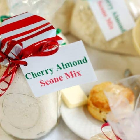 Cherry Almond Scone Mix #SundaySupper