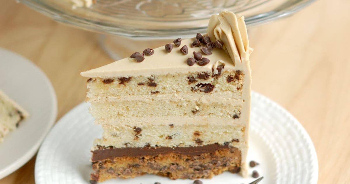Chocolate Chip Cookie Cake - Baking Sense